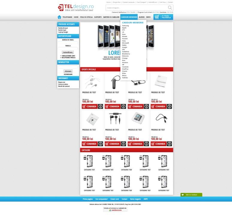 Design for online store #2
