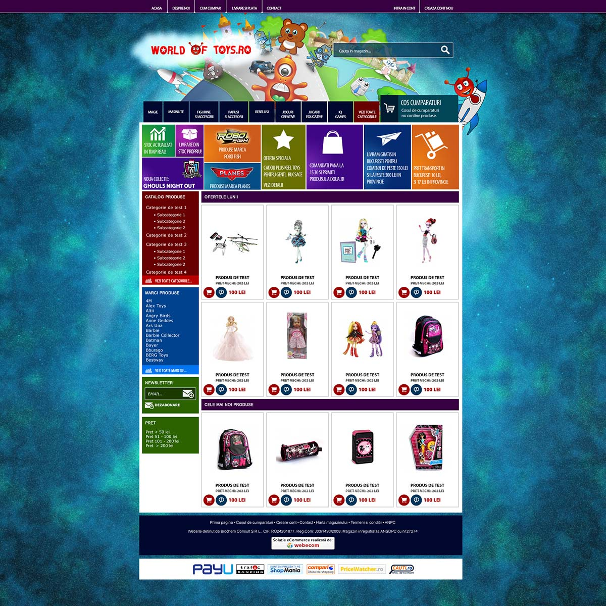 Design for online store #1